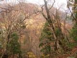 横山峠から中ノツボ谷方面