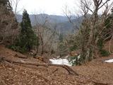 小野村割岳付近から傘峠方面