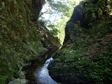 中ノツボ谷 深い釜の滝