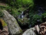 中ノツボ谷 階段状滝