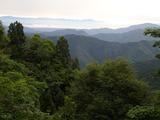 三国岳分岐から琵琶湖・伊吹山