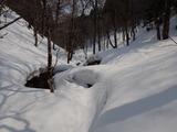 上谷 モンドリ谷の上流
