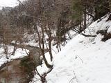 カヅラ谷出合の下流側