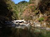 由良川 アヒノ谷出合の下流