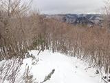 三国峠から百里ケ岳方面