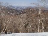 傘峠から百里ケ岳・三重岳など