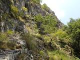 中ノツボの岩場