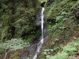 岩谷二俣の左俣に懸る滝