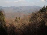 野田畑谷の南側から百里ケ岳方面