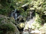 中ノツボ谷の滝 下から3個目