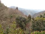若丹国境稜線からブナノ木峠方面
