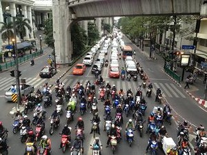 相変わらずの大渋滞