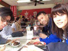 30台南で担仔麺を食す