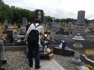 I氏の墓参り