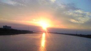 2279「メコンの夕陽」