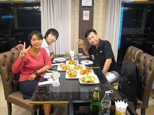 中華でディナー