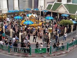 2015年8月17日に爆弾テロがあったエラワン廟
