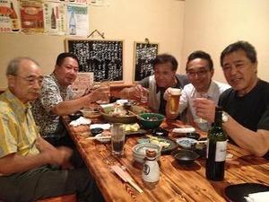 N大将歓迎晩餐会