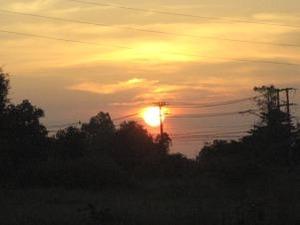 ノンカイの夕陽