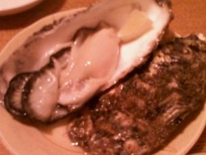 厚岸産のプリプリ牡蠣