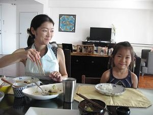 Y子と末娘のRちゃん