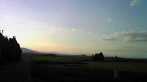 2515美瑛の夕陽
