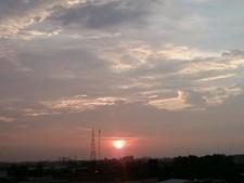 2557ノンカイの夕陽