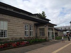 石造りの美瑛駅
