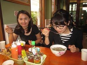 朝食はベトナム料理