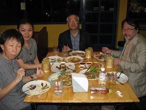 ノンカイロータリークラブと晩餐