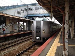 特急Sカムイ9号に乗車