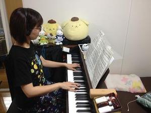 ピアノも弾けます