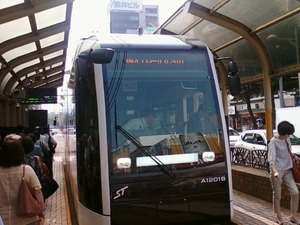 近代的な路面電車