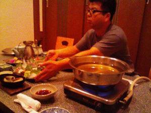 2175「荒木氏とハモ鍋」