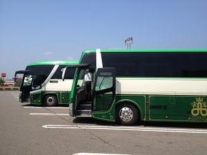 この大型バスで5時間半