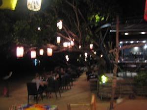 野外レストラン