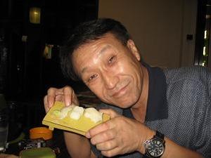 エンガワ寿司肴に呑む
