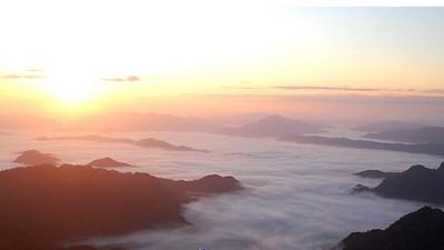 1850「チェンライの山の朝」