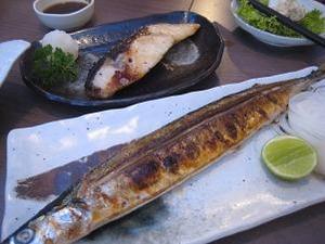 秋刀魚と鱈