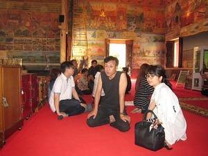 ノンカイで一番有名な寺院