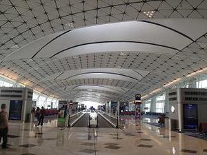 香港空港でトランジット