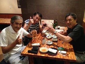 N氏と人生の師匠と乾杯