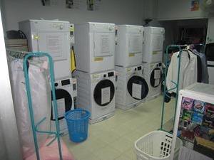 最新ドラム式洗濯機と乾燥機