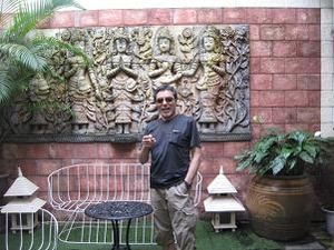 LVの中庭