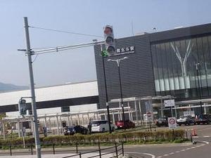 新幹線が停まる新函館北斗駅