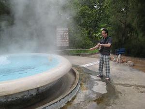 温泉たまごを作る