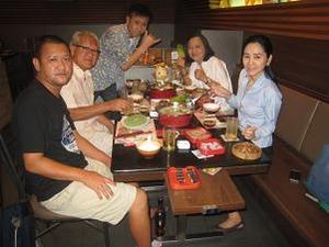 P家族と晩餐会