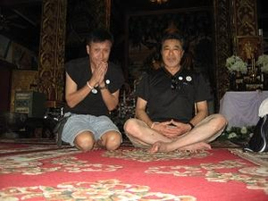 ワット・ダッパイ仏教体験