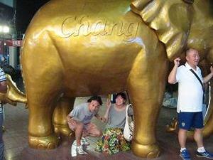 象を潜ると子宝に恵まれる