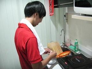 餃子を作る